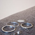 Sterling Silver Baby Bangles, Brooch & Signet Rings