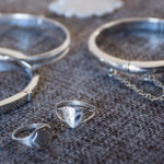 Sterling Silver Baby Bangles & Signet Rings